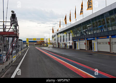 race track Circuit Zandvoort, Netherlands | Rennstrecke Zandvoort, Niederlande - Stock Photo