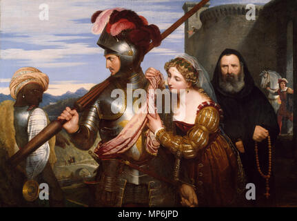The Champion   1824.   1170 The Champion - Charles Lock Eastlake - Google Cultural Institute - Stock Photo