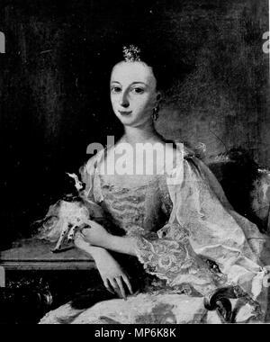 [Bildindex  der Kunst und Architektur] 1133 Sophie Christine Wilhelmine Gräfin zu Solms-Laubach, verheiratet mit Ferdinand Wilhelm Ernst Fürst zu Solms-Braunfels - Stock Photo