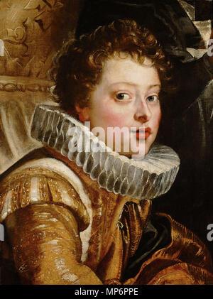 Deutsch: Vincenzo II. Gonzaga (1594-1627)    Deutsch: um 1604/1605 .   977 Peter Paul Rubens 123 - Stock Photo