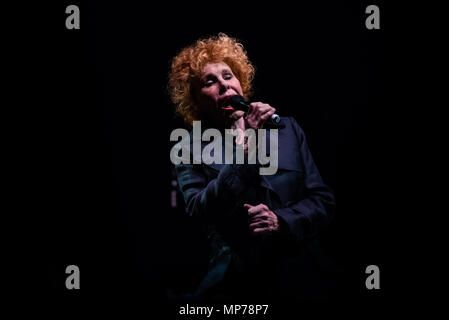 Italy, 2018 May 21st: The Italian singer and song writer Ornella Vanoni performing live on stage at the Teatro Colosseo in Torino for her 'La Mia Storia' (My personal history) tour 2018. Photo: Alessandro Bosio/Alamy Live News - Stock Photo