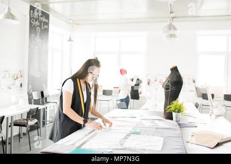 Creative Designers Working in Atelier - Stock Photo