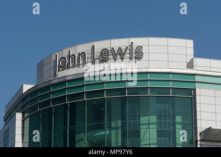 large branch of the high street retailer John Lewis in west quay shopping centre, southampton, england, uk. - Stock Photo