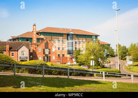 Office buildings on The Waterfront at Brierley Hill, West Midlands UK - Stock Photo
