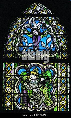 . Maestro di San Francesco, ss francesco e antonio, stimmate . 13th century.   843 Maestro di San Francesco, ss francesco e antonio, stimmate - Stock Photo