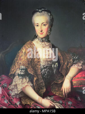 . English: Archduchess Maria Anna of Austria . 24 September 2014, 03:02:47.   Martin van Meytens  (1695–1770)     Alternative names Martin Mytens (II), Martin Meytens, Martin van Mijtens, Martin van Mytens (II), Martinus Mytens  Description Austrian-Swedish painter and draughtsman  Date of birth/death 24 June 1695 23 March 1770  Location of birth/death Stockholm Vienna  Work location Paris, Dresden, Vienna, Venice, Rome, Naples, Florence, Bologna, Modena, Milan, Turin, Genoa, Stockholm, Vienna (....-1770)  Authority control  : Q1082324 VIAF: 52559379 ISNI: 0000 0000 8343 666X ULAN: 500025098 L - Stock Photo