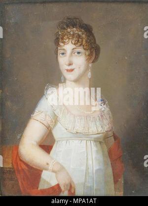 .  English: Duchess Maria Elisabeth in Bavaria (1784-1849), princess of Wagram     857 Maria Elisabeth in Bavaria - Stock Photo