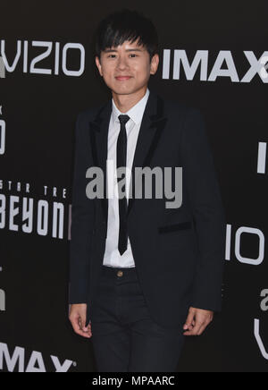 Jason Zhang     arriving at the Star Trek Beyond Premiere at the Embarcadero in San Diego ( Comicon Convention ), July 20, 2016.Jason Zhang    ------------- Red Carpet Event, Vertical, USA, Film Industry, Celebrities,  Photography, Bestof, Arts Culture and Entertainment, Topix Celebrities fashion /  Vertical, Best of, Event in Hollywood Life - California,  Red Carpet and backstage, USA, Film Industry, Celebrities,  movie celebrities, TV celebrities, Music celebrities, Photography, Bestof, Arts Culture and Entertainment,  Topix, Three Quarters, vertical, one person,, from the year , 2016, inqui
