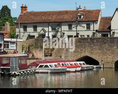 The Nags Head, Abingdon, Oxforshire - Stock Photo