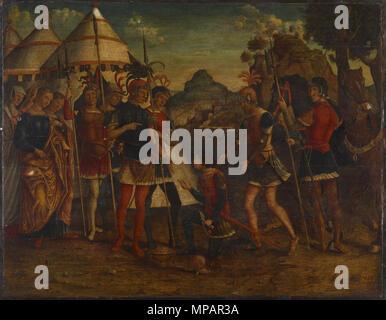 37.1118 891 Michele da Verona - The Magnanimity of Scipio - Walters 371118 - Stock Photo