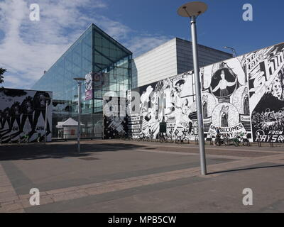 Strasbourg Museum of Modern and Contemporary Art, Strasbourg, France - Stock Photo