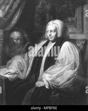 . Portrait of Thomas Newton (1704-1782) . 1767.    Richard Earlom  (1743–1822)     Alternative names Earlom; R. Earlom  Description English mezzotint engraver  Date of birth/death 14 May 1743 9 October 1822  Location of birth/death London London  Work location London  Authority control  : Q2360939 VIAF: 5199206 ISNI: 0000 0000 6628 6954 ULAN: 500018023 LCCN: n83317525 NLA: 35471768 WorldCat      After Benjamin West  (1738–1820)     Description American-British painter  Date of birth/death 10 October 1738 11 March 1820  Location of birth/death Springfield Township, Pennsylvania London  Work loc - Stock Photo