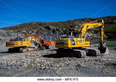quarry machines - Stock Photo