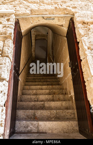 San Carlos castle free open historical military museum Palma Mallorca. - Stock Photo