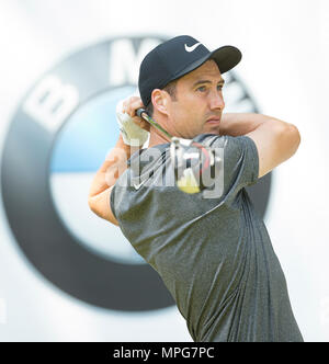 Wentworth, UK. 23th May 2018. Wentworth Golf Club, UK. 23rd May 2018. Ross Fisher during the Pro Am ahead of the BMW PGA Championship at Wentworth Golf Club on May 23, 2018 in Surrey, England Credit: Paul Terry Photo/Alamy Live News - Stock Photo