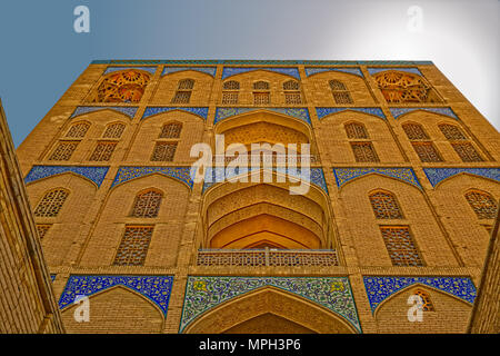 Ali Qapu Palace facade - Stock Photo