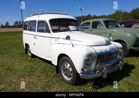 1966 Volvo Duett 210 - Stock Photo