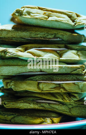 Tower of sandwiches - Stock Photo