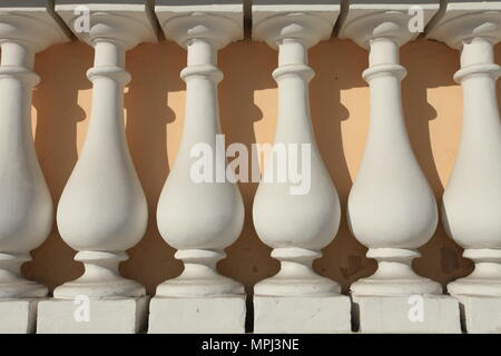 architectural balusters - Stock Photo