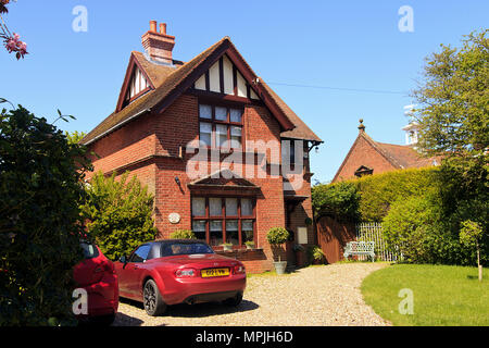 The Old Schhol House, Knapton, Norfolk - Stock Photo