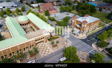 Birmingham Civil Rights Institute, and the Sixteenth Street Baptist Church, Birmingham, Alabama, USA - Stock Photo
