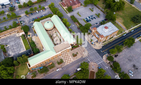 Birmingham Civil Rights Institute, and the Sixteenth Street Baptist Church, Birmingham, Alabama, USA - Stock Photo