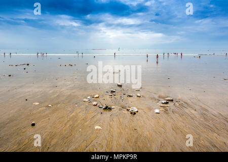 Le Havre beach, Normandy, France