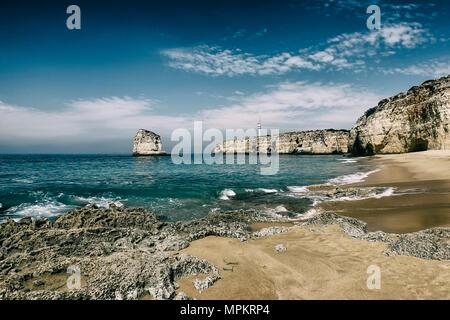 carvoeiro beach, algarve-portugal - Stock Photo