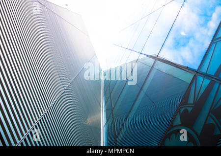 Titanic Belfast Titanic Quarter Belfast City Harbour Belfast Northern Ireland - Stock Photo