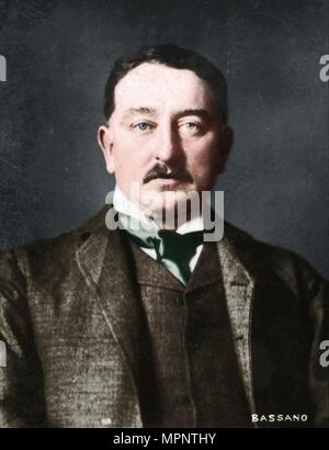 'Cecil Rhodes', (1853-1902), English-born South African entrepreneur and statesman, 1894-1907. Artist: Alexander Bassano. - Stock Photo