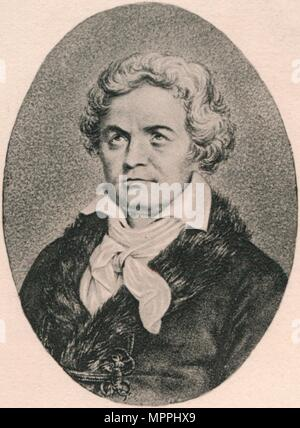 'Beethoven.', 1895. Artist: Unknown. - Stock Photo