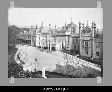 The Pavilion, Brighton c1900 . Artist: W & AH Fry. - Stock Photo
