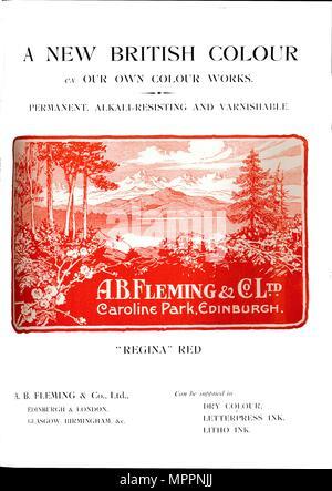 A B  Fleming & Co  Ltd  advert', 1910  Artist: Unknown Stock