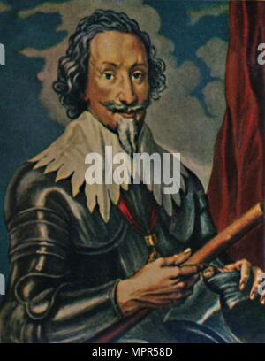 'Graf von Pappenheim 1594-1632. - Gemälde von A. van Dyck', 1934. Artist: Unknown. - Stock Photo