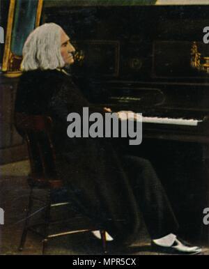 'Franz von Liszt 1811-1886', 1934. Artist: Unknown. - Stock Photo