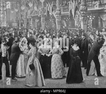 'Le Casino De Paris', 1900. Artist: Unknown. - Stock Photo