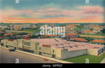 Vintage ford factory stock photo 162624696 alamy for Lincoln motor company corporate headquarters