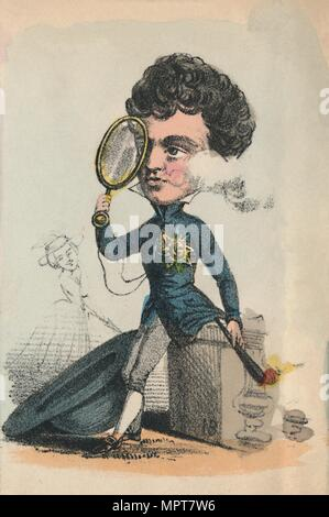 'George IV', 1856. Artist: Alfred Crowquill. - Stock Photo
