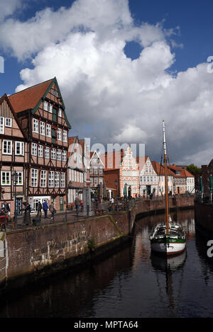 Hansestadt, Stade, Altstadt, historisch - Stock Photo