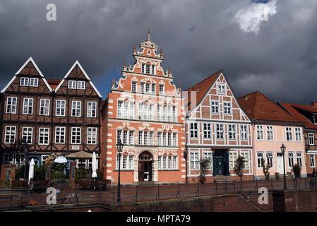 Hansestadt, Stade, Altstadt, historisch - Stock Photo