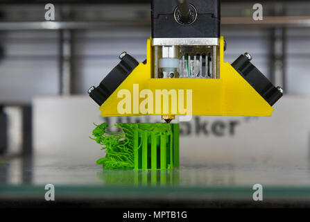 3D / three dimensional printing equipment display; Open Day at the National Physical Laboratory (NPL), Teddington. London. UK. (97) - Stock Photo