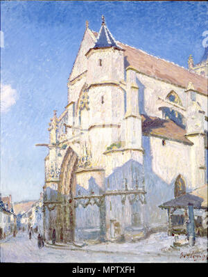 The Church at Moret (Evening).