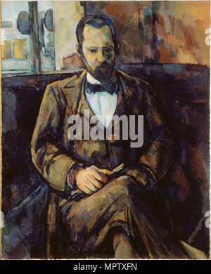 Portrait of Ambroise Vollard. - Stock Photo