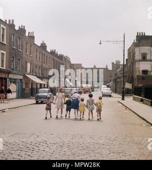 White Conduit Street, Islington, London, c1950s-c1960s.  Artist: John Gay. - Stock Photo