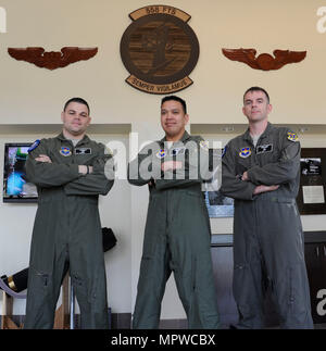 Tech. Sgt. Mike, Master Sgt. Alex and Master Sgt. Mike will