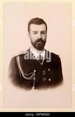 Grand Duke Alexander Mikhailovich of Russia (1866-1933), ca 1894. - Stock Photo