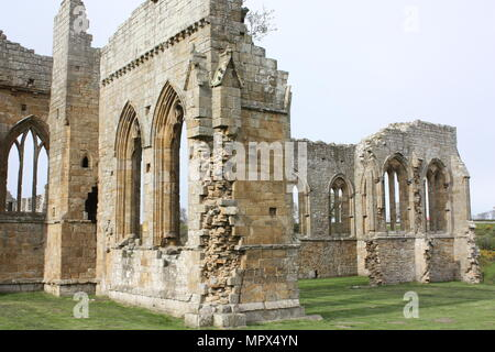 Egglestone Abbey near Barnard Castle - Stock Photo