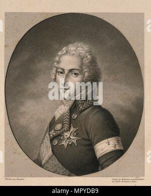 Louis Antoine de Bourbon, Duke of Enghien (1772-1804), . - Stock Photo