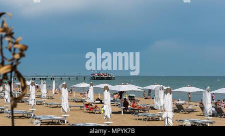 Lignano beach - Stock Photo