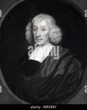 Portrait of John Ray (1627-1705) an English naturalist. Dated 18th century